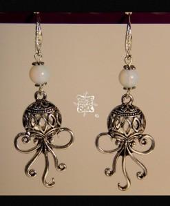boucles d'oreilles octopus