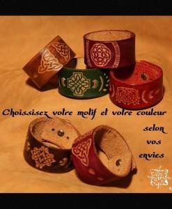 Bracelets Celtiques en couleur