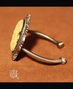 Bracelet torque Victorian Death