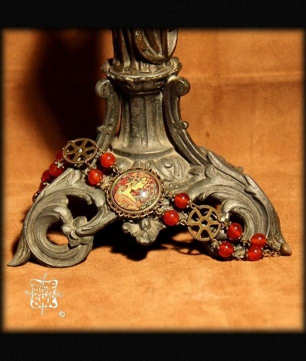 bracelet Le Lierre de Mucha