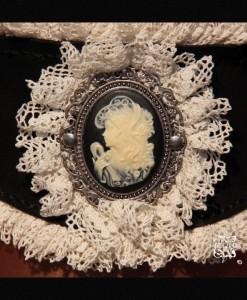 corset de cou Art Nouveau