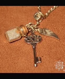 """Collier Steampunk """"La clé des rêves"""""""