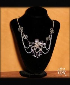 Octopus et améthystes