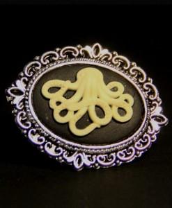 Bague Camée Octopus