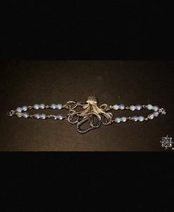 Bracelet Octopus et Opales