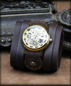 Montre Squelette Bracelet de force