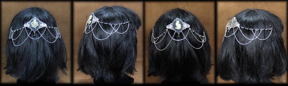 bijoux de tête 3 - - ornements de chevelure