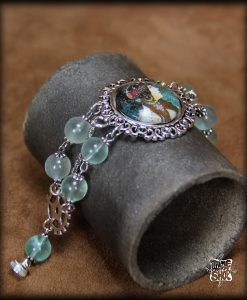 bracelet La Femme Byzantine de Mucha