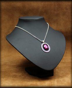 pendentif purple tear