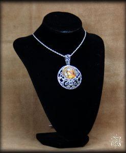 pendentif Le Zodiaque de Mucha