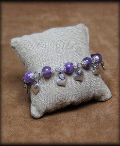 -bracelet ronde de coeurs