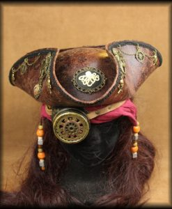 tricorne pirate steampunk