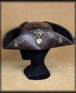tricorne steampunk pirate
