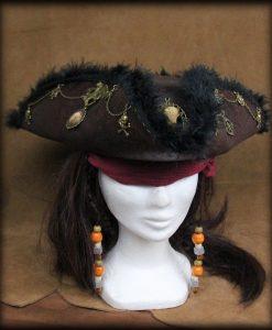 tricorne steampunk pirate