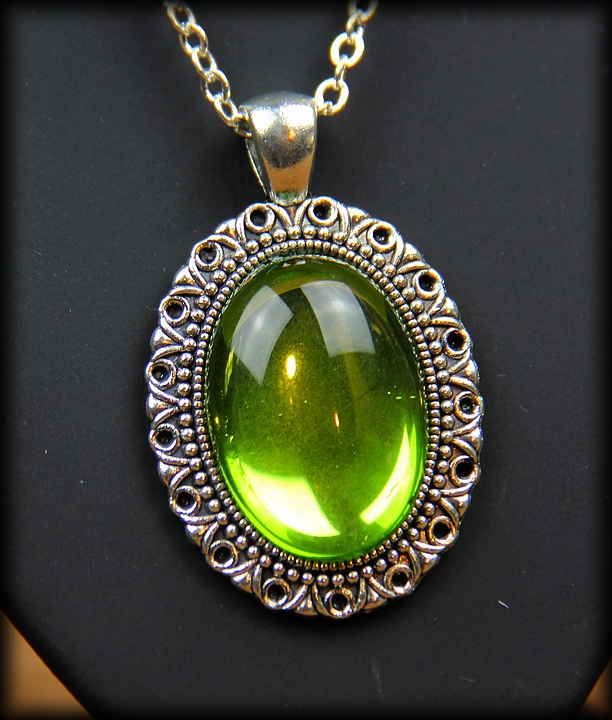 Pendentif Green Light