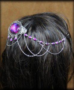 ornement de cheveux eclat de galaxie 2