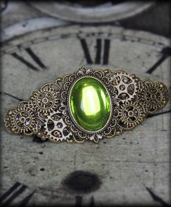 barrette Green Light