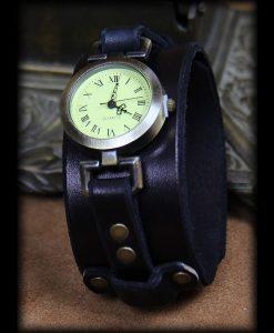 montre cuir