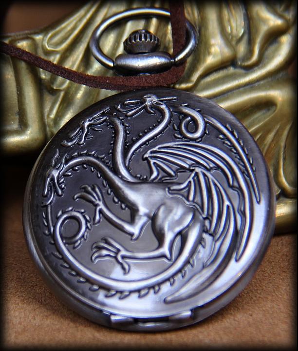 Montre a gousset Dragons
