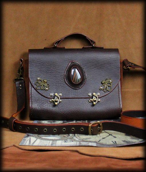 sac Octopus en cuir