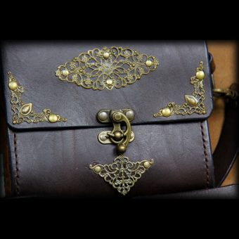 SAS021 2 sacoche en cuir