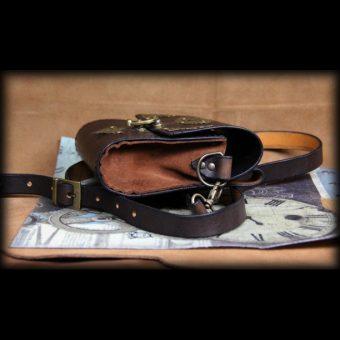 SAS021 3 sacoche en cuir