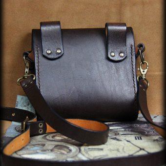 SAS021 4 sacoche en cuir