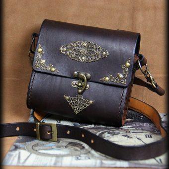 SAS021 5 sacoche en cuir