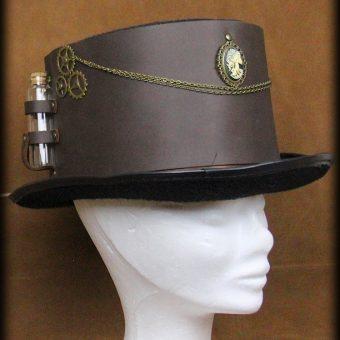 chapeau fioles