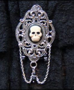 broche Skull