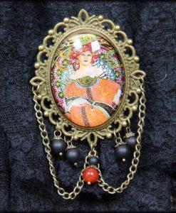 broche Art Nouveau
