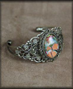 bracelet rigide Art Nouveau