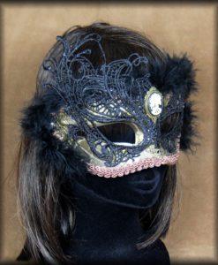 masque steampunk lady death