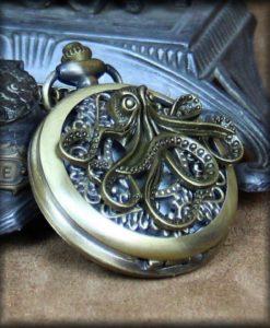 grosse montre a gousset poulpe