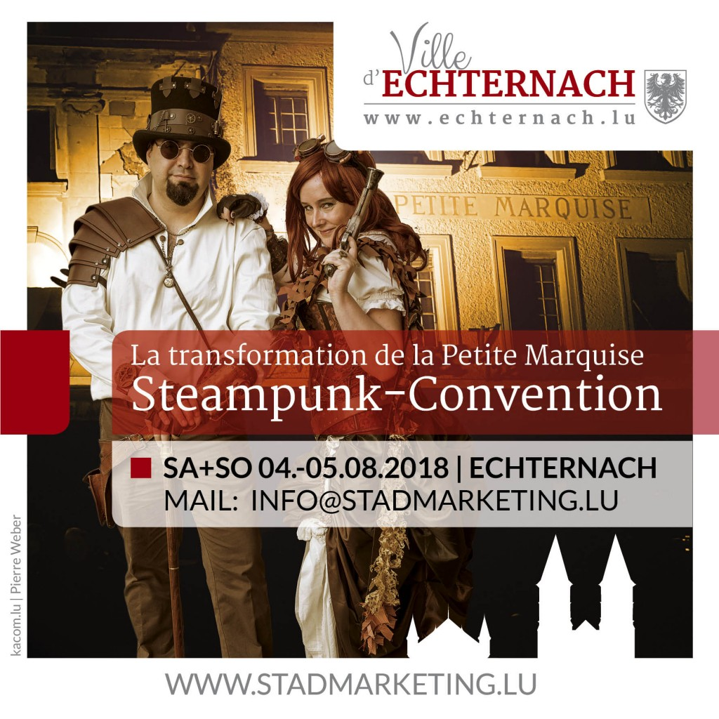 Convention steampunk Echternach