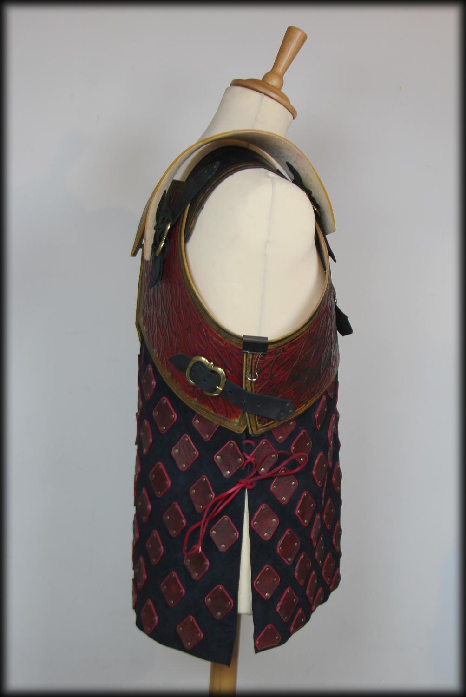 armure en cuir par urzhal