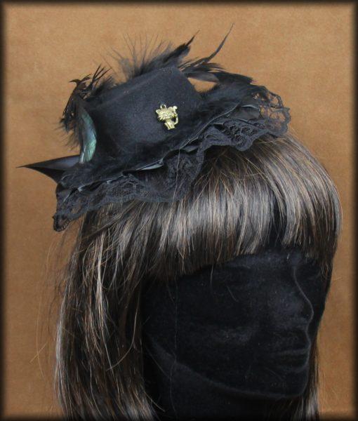mini chapeau chat