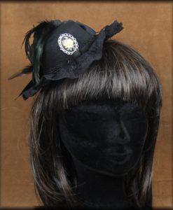 mini chapeau rose