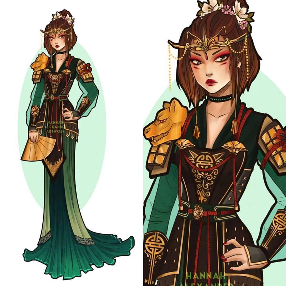design Suki par Hannah alexander