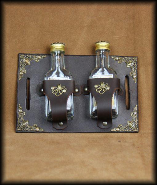 cartouchière à flasques