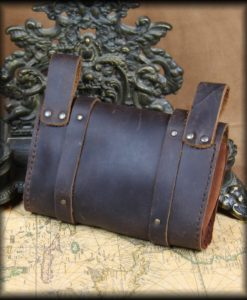 sacoche de ceinture steampunk