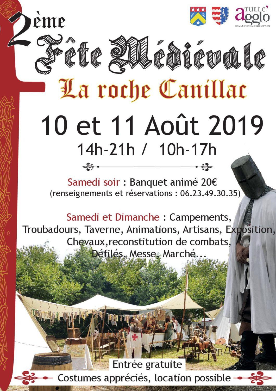 AFFICHE roche canillac 2019