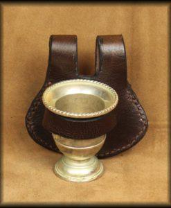 timbale de ceinture argenté