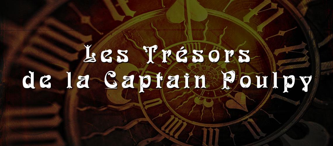 les trésors steampunk de la Captain Poulpy
