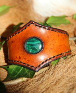Bracelet Fin malachite